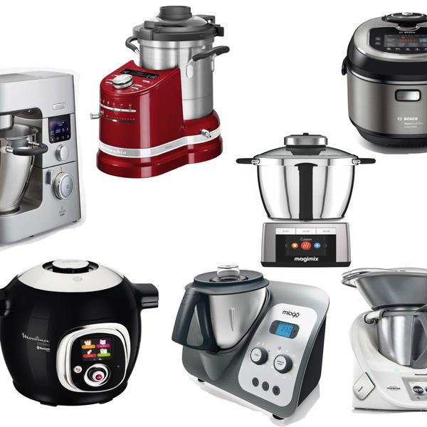 Meilleurs robots cuisiniers